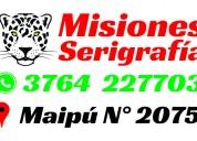 Serigrafía en misiones