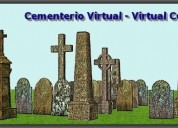 Cementerio virtual - firtst virtual cementery