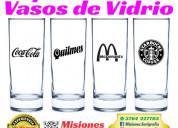 Impresiones sobre vasos de vidrio