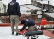 Techista reparación impermeabilización