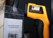 Uso industrial termómetros infrarrojos digitales p