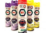 Desinfectante 911 en aerosol sanitizante