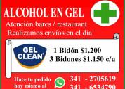 Alcohol en gel x 5 lts