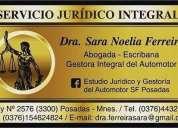 Estudio juridico integral abogada y gestora del automotor