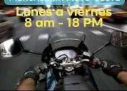 Mensajeria moto oeste merlo, contactarse