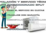 Instalacion service aire acondiciones