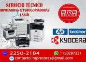 Reparacion de impresora kyocera brother hp