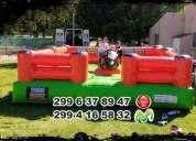 Alquilo juegos inflables toro mecanico