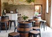 Venta y alquiler mobiliario para eventos y bares