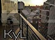 Instalacion de redes en balcones proteccion