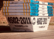 Servicio de contenedores 4602-2011