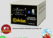 Estabilizadores y elevadores de tensión tfno 011-4849-2747