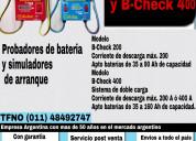 Analizadores de baterías marca dolar bch 400