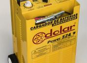 Cargador arrancador baterias usos autos camiones de gran porte