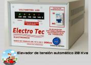 Elevador de tensión 20kva | 20000 watts  | 80 ampe