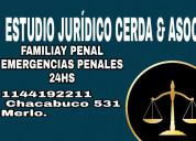 Estudio juridico cerda. familia, penal. 1144192211