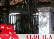 Casa en alquiler con 4 habitaciones living comedor 2 banos cochera sobre balcarce al en san miguel
