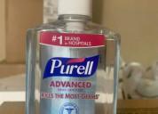 Desinfectantes de manos avanzados purell