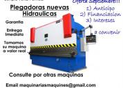 Plegadora hidraulica italpleg