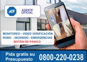 Adt argentina 0800-220-0238 venta e instalación