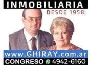 Talcahuano 1100 19 500 departamento alquiler 1 dormitorios 35 m2