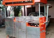 Vendo carro hamburguesero con panchera (medidas