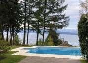 Hermosa casa con piscina climatizada y vista al lago 3 dormitorios