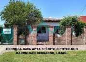 Casa en lujan barrio san bernardo en luján