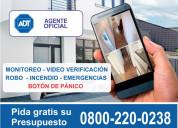 Adt 0800-220-0238 0$ instalación !!! todo el país