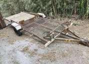 Vendo trailers de un eje r14