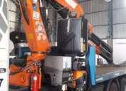Scania con hidrogrua pm 34, contactarse