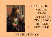 Clases de piano academia