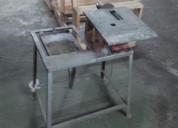 Sierra combinada carpinteria mesa vendo permuto