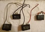 Repuesto capacitores para ventiladores