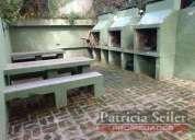 Venta departamento 2 ambientes con cochera villa gesell 1 dormitorios