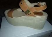 Vendo sandalias altas 37
