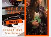 Escuela de ukele y canto en linea