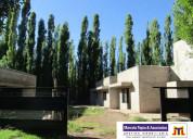 Venta casa en malargÜe barrio los abedules mendoza