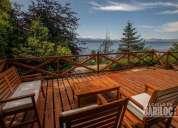Hermosa casa con vista al lago de 3 dormitorios bariloche km4 en bariloche