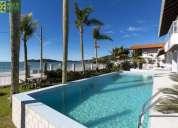 372 playa de bombinhas hermosa casa frente al mar p 18 personas en la capital