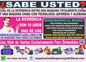 Maquinas para micro empresas