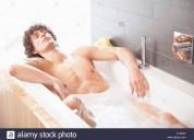 Realizo afeitado intimo y corporal, lavado cuerpo