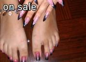 Vendo fotos de mis pies/uñas