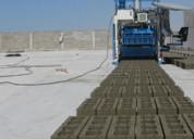 Maquina para fabricar adoquines de concreto 1200/h