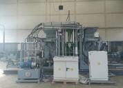 12900 bl/8h - sueca maquina para fabricar adoquine