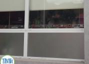 Ploteo vidrieras comerciales