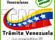 Certificaciones para venezolanos