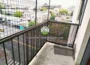 Super luminoso semipiso de 3 ambientes con balcon y lavadero en constitucion 3 dormitorios