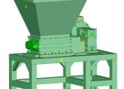 Trituradora de plásticos. planos y manual ensamble