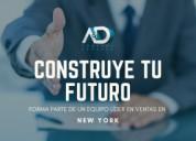Ejecutivo de ventas para new york